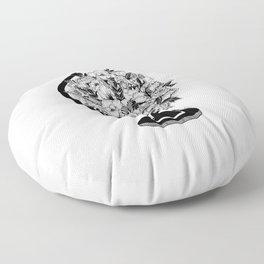 What a Wonderful World Floor Pillow