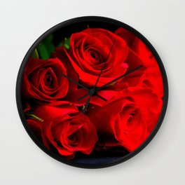Ignited Passion Wall Clock