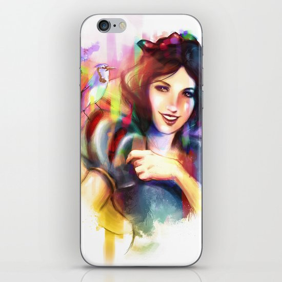 A Smile and a Song iPhone & iPod Skin