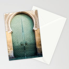 Door of Cathedral Mezquita of Cordoba, Andalucia Stationery Cards