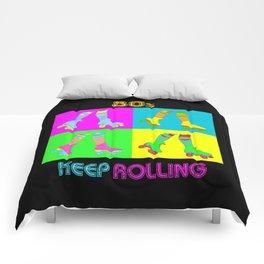 Keep Rolling Comforters