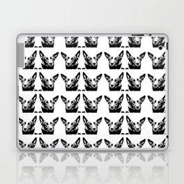 Mitzi black and white, pattern Laptop & iPad Skin
