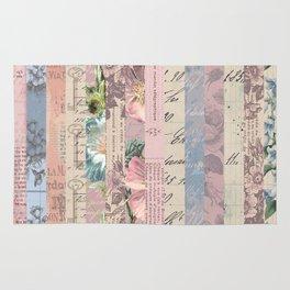 Vintage Shabby Florals Rug