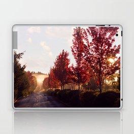 Fall Sunrise in the Fog Laptop & iPad Skin