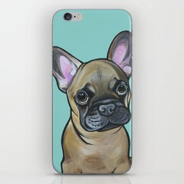 Armand the Frenchie Pup iPhone Skin