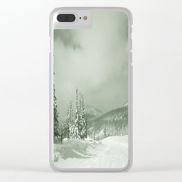 Winter day3 Clear iPhone Case