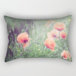 Flow(ers) Rectangular Pillow