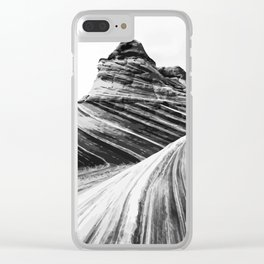 Erode Clear iPhone Case