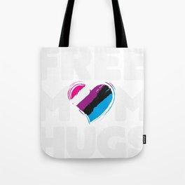 Free Mom Hugs Shirt, Free Mom Hugs Genderfluid Pride LGBTQIA Tote Bag