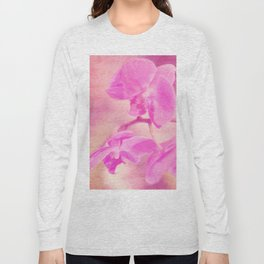 Scripted Orchid Long Sleeve T-shirt