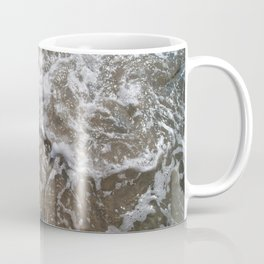 Wave Foam and Beach Rocks Coffee Mug