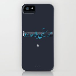 Music Without Borders iPhone Case