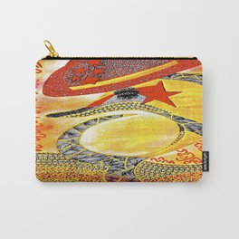 Dolphin StarBurst tetkaART Carry-All Pouch