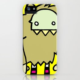 Le Loup-Garou iPhone Case