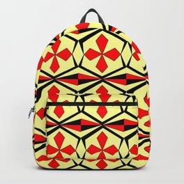 symetric patterns 59 -mandala,geometric,rosace,harmony,star,symmetry Backpack