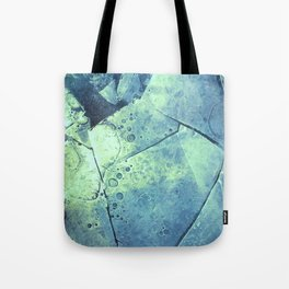 Winter Fragments Tote Bag