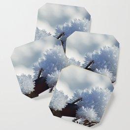 Ice Crystals Coaster