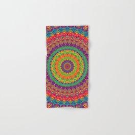 Mandala 458 (NEON) Hand & Bath Towel