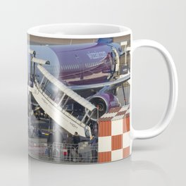 Wizz Air Jet And Fire Brigade Coffee Mug