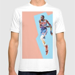 Slim Reaper KD #7 Basketball Player T-shirt