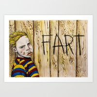 Bufort's A Sly One Art Print