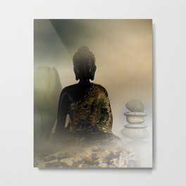 meditation at Easter Metal Print
