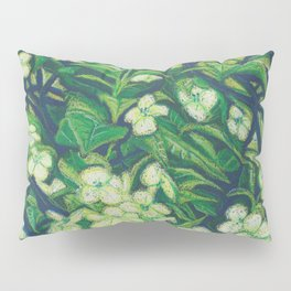 Expressionist Sweet Flowers Pillow Sham