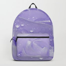 Rose with Drops 085 Backpack