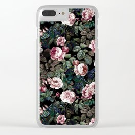 NIGHT FOREST XX Clear iPhone Case