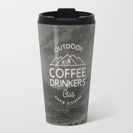 Outdoor Coffee Drinkers Club Travel Mug