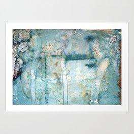 Water Damaged Art Print