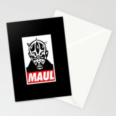 Obey Darth Maul (maul text version) - Star Wars Stationery Cards
