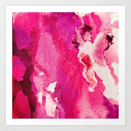 SO Pink Art Print