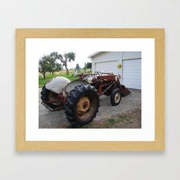 #406 ford 9n bitterroot mt Framed Art Print