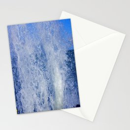 Lake Michigan Natural Fountains #3 (Chicago Waves Collection) Stationery Cards