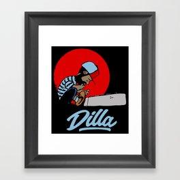 J Dilla Framed Art Print