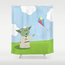 SW Kids - Yoda Kite Shower Curtain