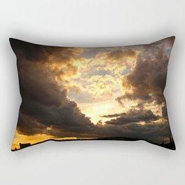 Cloud Bomb Rectangular Pillow