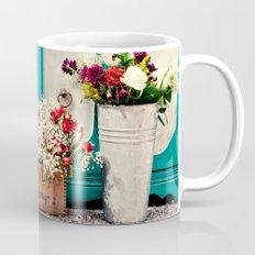 Vintage + Flowers  Mug