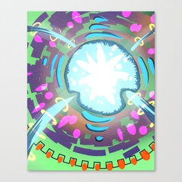 The Vital Core Canvas Print