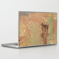 stephen king Laptop & iPad Skins featuring King by Fernando Vieira