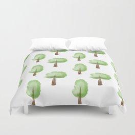 Forest for the Trees Duvet Cover