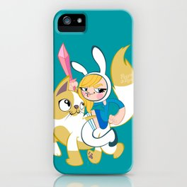 Time for some adventures! (Fionna & Cake) iPhone Case