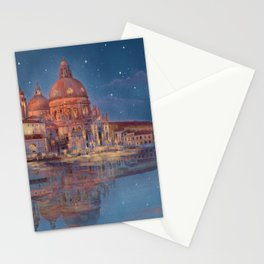 Night in Venice Stationery Cards