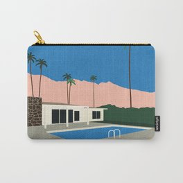 Palm Springs Bungalow Carry-All Pouch