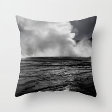 Tatio Geysers / Atacama  Throw Pillow