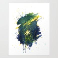 Reactor 4 Art Print
