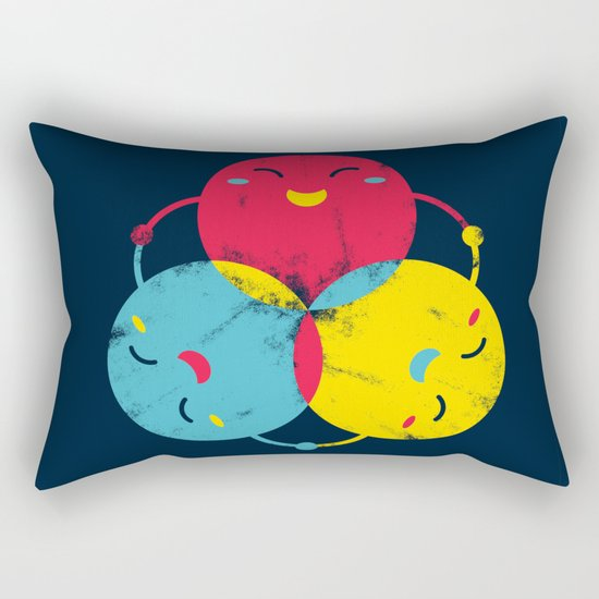 happy together Rectangular Pillow
