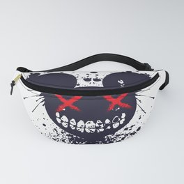 Artsy Cool punky Mouse Fanny Pack