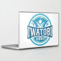iwatobi Laptop & iPad Skins featuring Iwatobi Team Logo by Cup of June